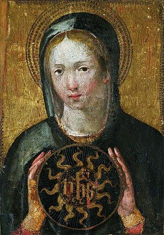 Flavia Domitilla (saint) - Image: Umbria Saint Domitilla