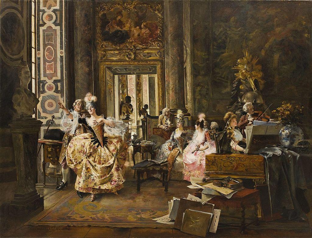 Версальский концерт - François Flameng.jpg