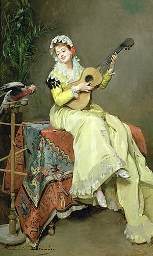 Madeleine Lemaire - Image: Un moment musical Madeleine Lemaire (1845 1928)