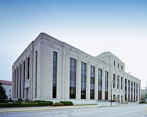 Federal Building and United States Courthouse (Sioux City, Iowa) - Image: United States Courthouse, Sioux City, Iowa