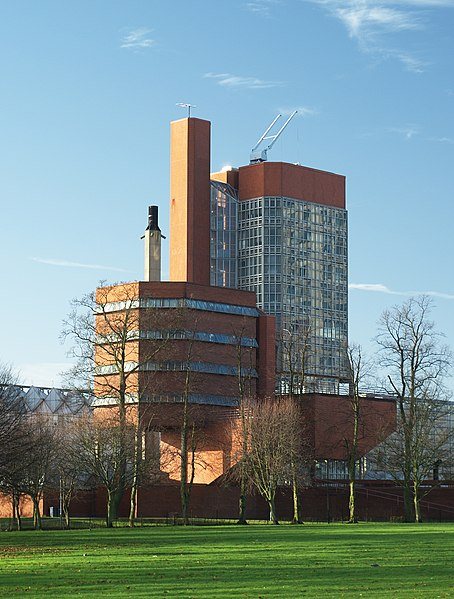 File University Of Leicester Engineering Building From