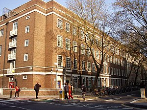 Malet Street - Image: University of London Union, Malet Street, London 22April 2008