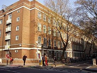 Malet Street - Image: University of London Union, Malet Street, London 22April 2008