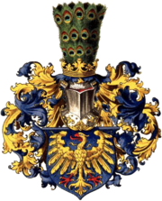 19th century coat of arms of Upper Silesia.
