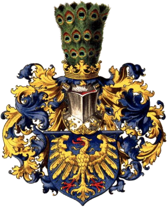 Upper Silesia - Coat of arms of Upper Silesia as drawn by Hugo Gerard Ströhl (1851–1919)