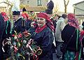 Uroczystość topienia Marzanny i powrót z gaikiem, Miasteczko Śląskie 21 marca 2015 01.jpg