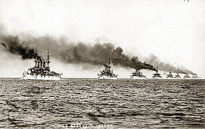 United States Navy - The Great White Fleet demonstrates U.S. naval power in 1907; it was proof that the U.S. Navy had blue-water capability.