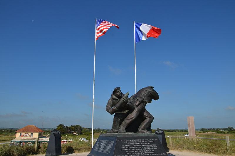 File:Utah Beach Memorial US Navy (2).JPG
