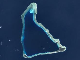 Utirik Atoll - NASA image of Utirik Atoll