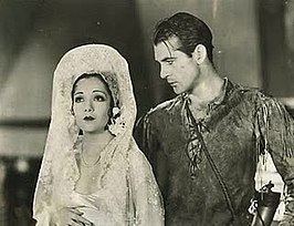 Lupe Vélez en Gary Cooper in The Wolf Song