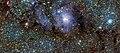 VISTA's infrared view of the Lagoon Nebula (Messier 8).jpg
