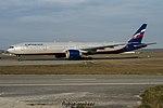 VQ-BQE Boeing B777-3M0 B77W Aeroflot (AFL) (31403213373).jpg