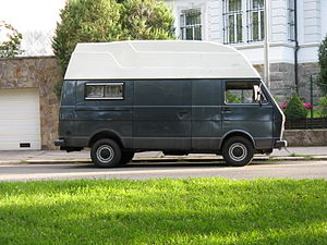 Volkswagen LT - LT 35e LWB with a custom camper high roof
