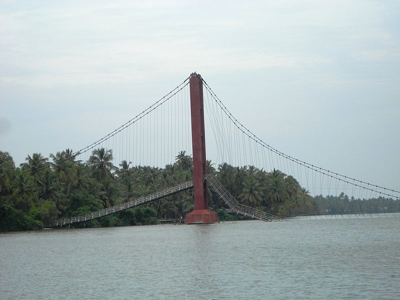 Valiyaparamba Madakkal suspension bridge