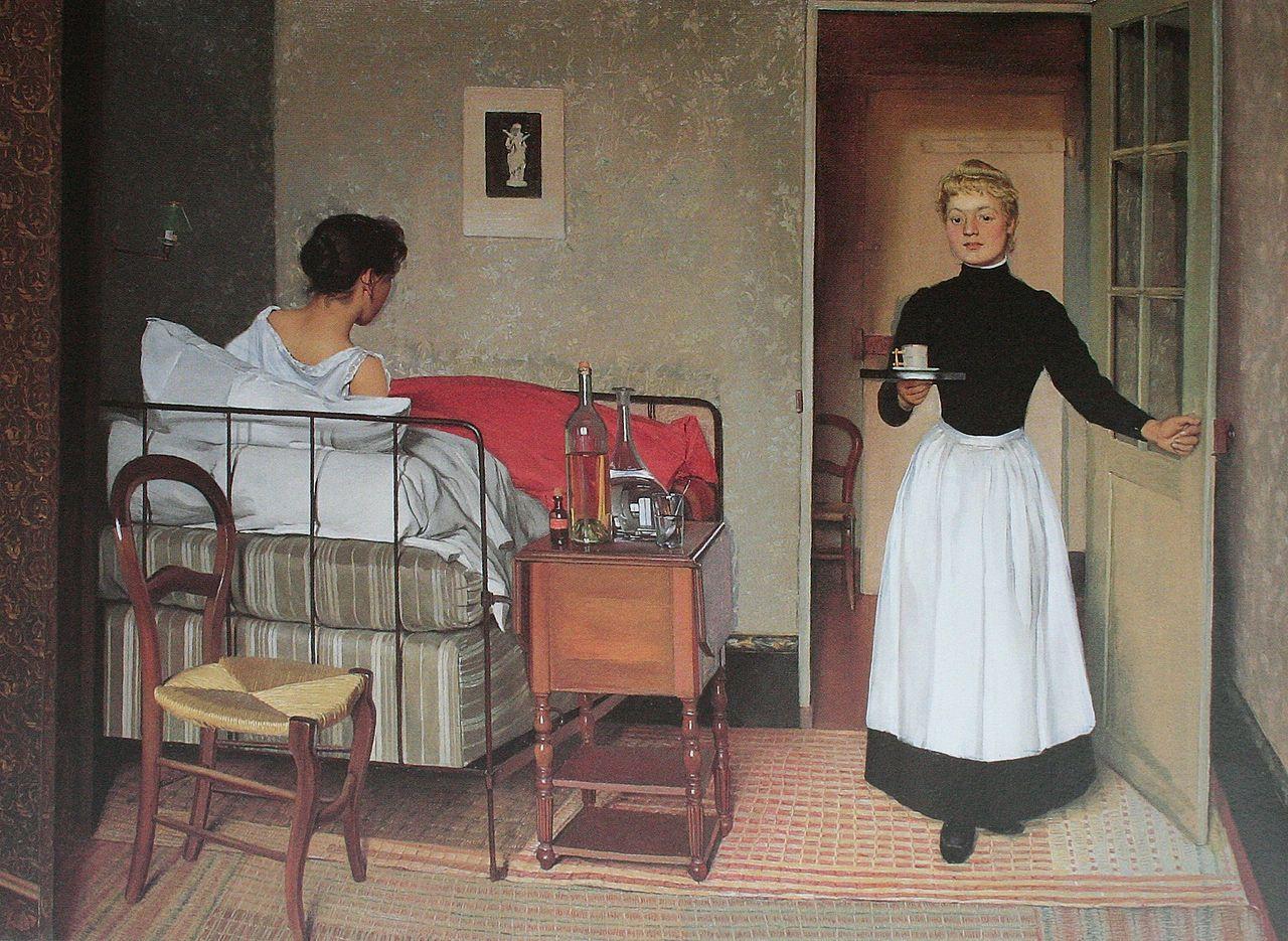 费利克斯·瓦洛瑞士/法国画家②Félix Edouard Vallotton (Swiss, 1865–1925) - 文铮 - 柳州文铮