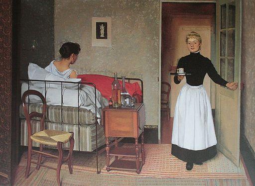 Vallotton Die Kranke 1892