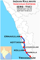Vanchinad Express (Ernakulam - Trivandrum) route map.png