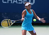 Vania King (USA) 2011 US Open.jpg