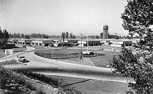 Vanport, Oregon - Vanport in 1943, five years before the flood