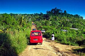 Suburban Port Vila bus, Vanuatu