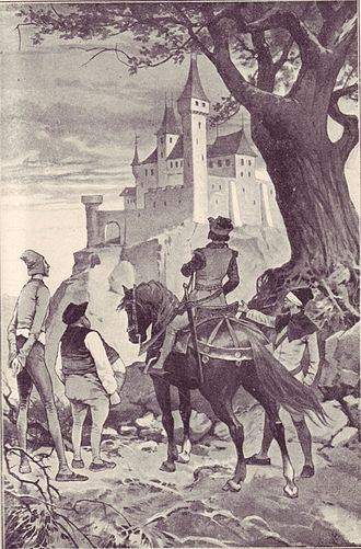 The Six Servants - The Prince arriving at the castle
