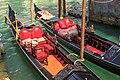 """Venice city scenes - gondoliers rule the """"streets"""" - pretty fancy!! (11002270115).jpg"""