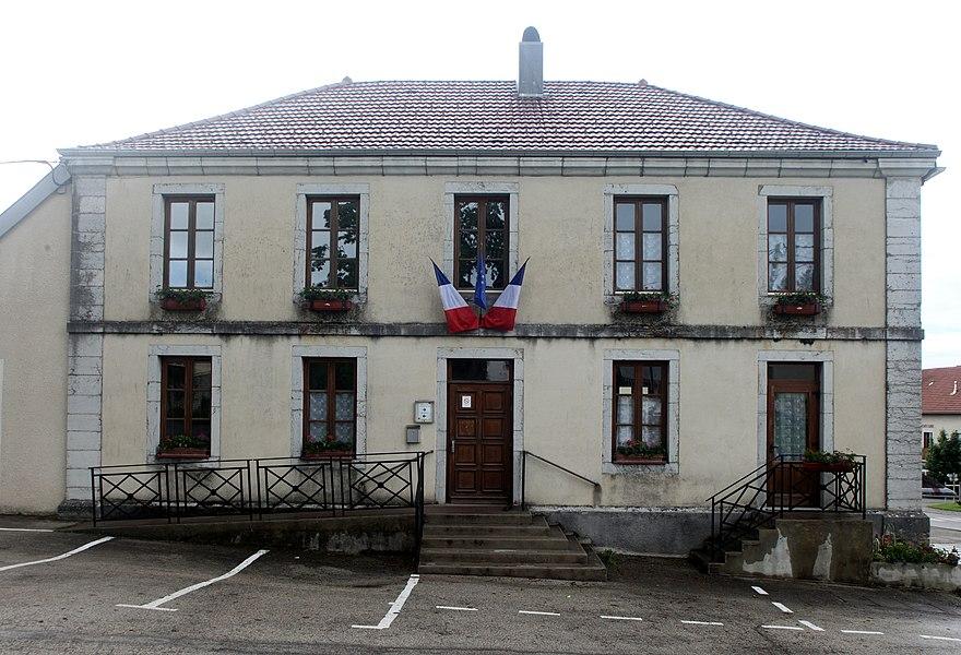 Mairie de Vernierfontaine (Doubs).