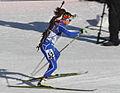 Victoria Padial Hernandez at Biathlon WC 2015 Nové Město.jpg