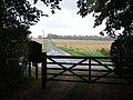 View Along Church Road Crowfield - geograph.org.uk - 530024.jpg