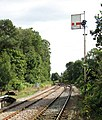 View along the railway line east of Somerleyton station - geograph.org.uk - 1505961.jpg