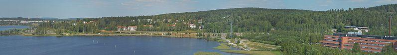 File:View from Maailmanpylväs towards Vaajakoski Motorway.jpg