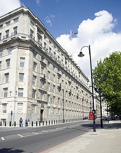View of Thames House from Millbank.jpg