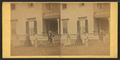 View of men & women playing croquet in the lawn, from Robert N. Dennis collection of stereoscopic views.png