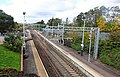 View to the west from Carfin Railway Station, North Lanarkshire.jpg