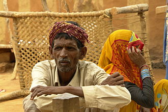 Saharia - Saharia people in Bathpura, Gwalior district, M.P.