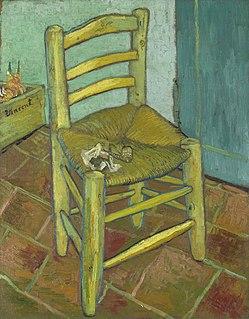 <i>Van Goghs Chair</i> Painting by Vincent van Gogh