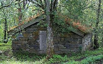 Snåsa - Image: Vinje prestegard Snåsa steinkjeller