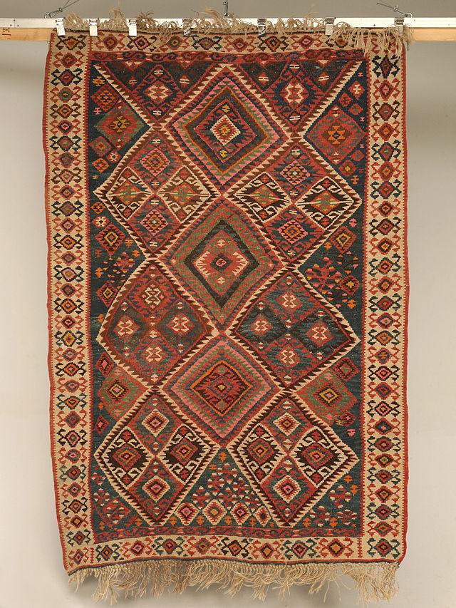 woven turkish rug