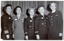 Viola B. Sanders, Elizabeth Ray, Elizabeth C. Gorman, Mary E. Kelly, and Margaret M. Henderson, January 1963.png