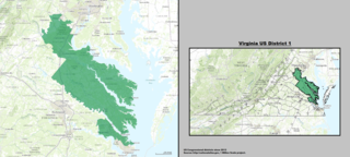 Virginias 1st congressional district