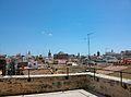 Vista de la ciutat de València des de la porta de Quart.JPG