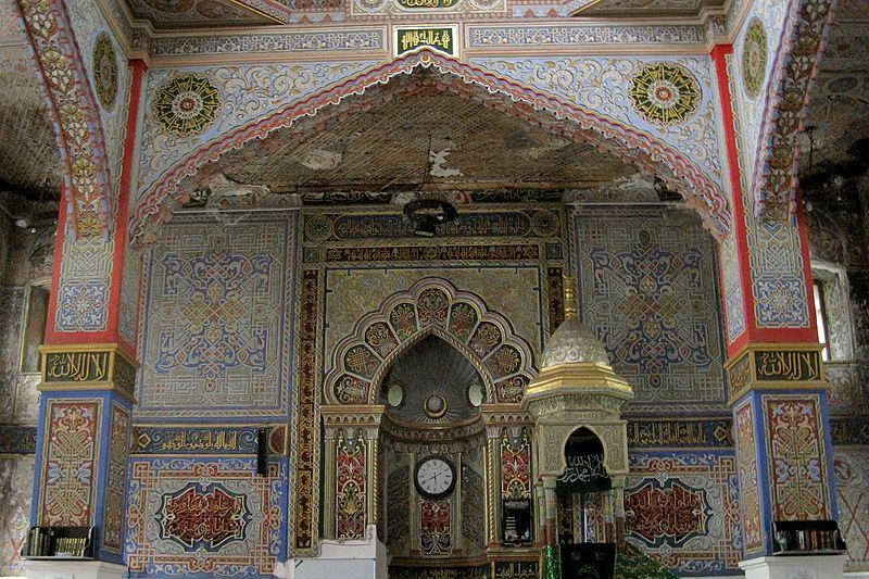 Vladikavkaz.055.Mukhtarov (Sunni) Mosque (1908).Interior.jpg