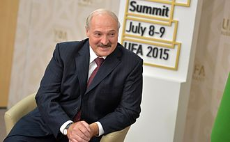 Alexander Lukashenko - Alexander Lukashenko during the 7th BRICS summit in Ufa.