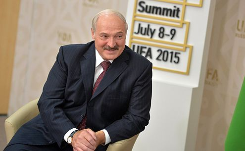 Vladimir Putin and Aleksandr Lukashenko, BRICS summit 2015 04.jpg