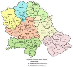 mapa beograda po opstinama Teritorijalna organizacija Srbije — Vikipedija, slobodna enciklopedija mapa beograda po opstinama