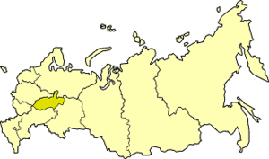Volga-Vyatka economic region - Volga-Vyatka economic region on the map of Russia