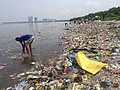 Volunteers cleans up Freedom Island coast.jpg