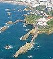 Vue aerienne rocher de la vierge biarritz.jpg