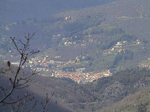 Le Vigan, Gard - View from the mountains to Le Vigan