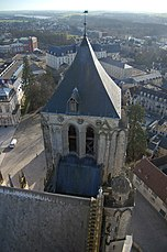 Vue haute cathedrale bourges.JPG